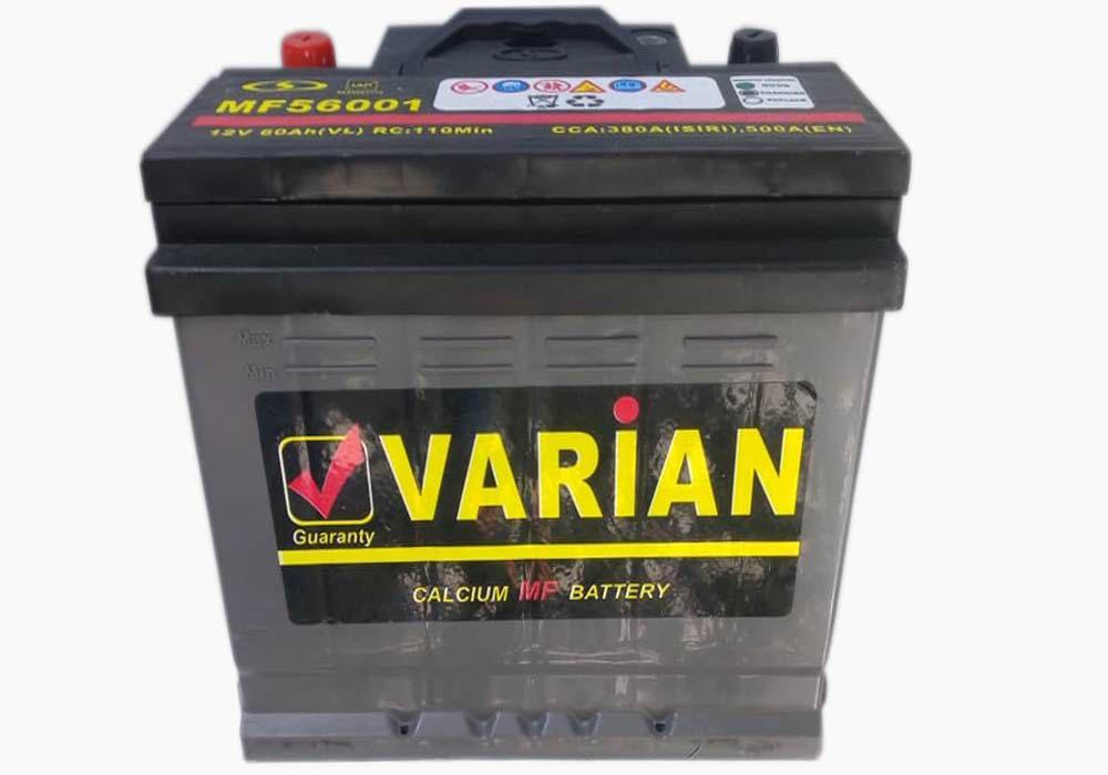 قیمت باتری واریان