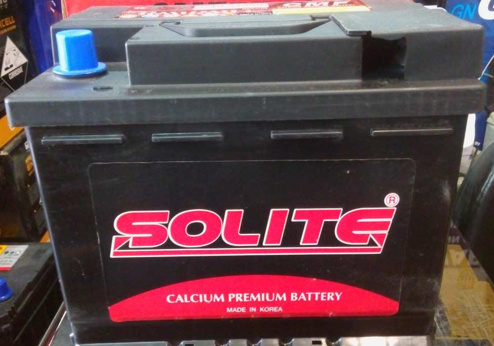 باتری ماشین سولایت کره