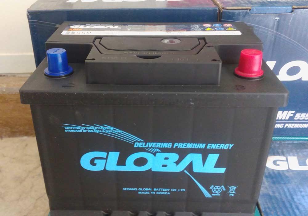 باتری ماشین گلوبال کره