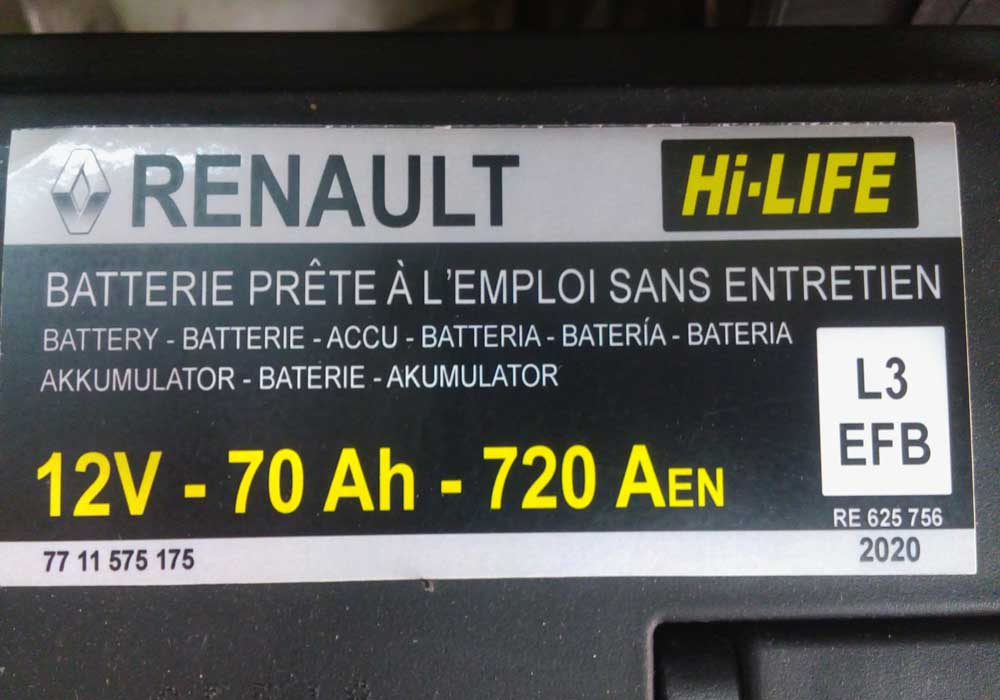 خرید باتری ماشین رنو تالیسمان