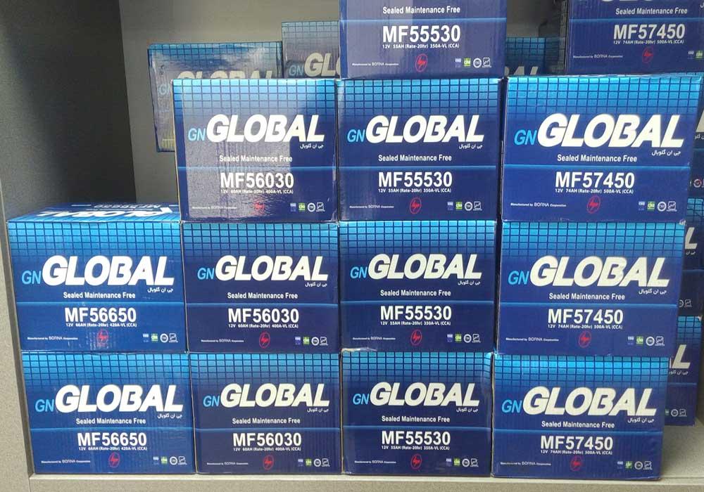 باطری جی ان گلوبال