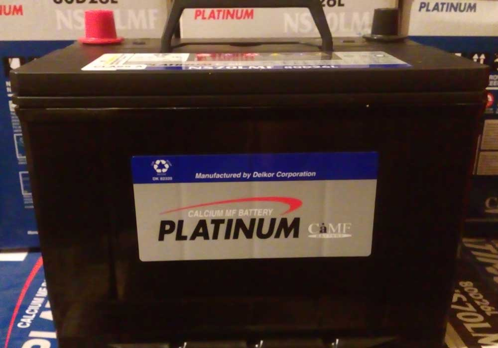 باتری ماشین پلاتینیوم